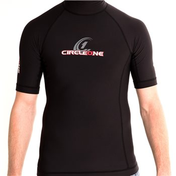 Circle One Mens Poly Plush Short Sleeve Base Layer  - Click to view larger image