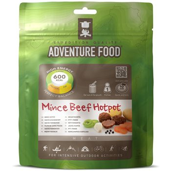 Adventure Food Mince Beef Hotpot for Intensive Outdoor Activities  - Click to view larger image