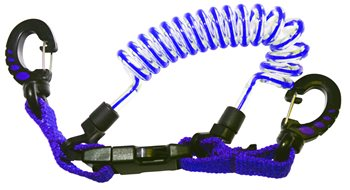 Beaver Clip Shock Line  Blue - Click to view larger image
