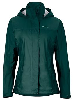 Marmot Womens Precip Waterproof Jacket Deep Teal - Click to view larger image