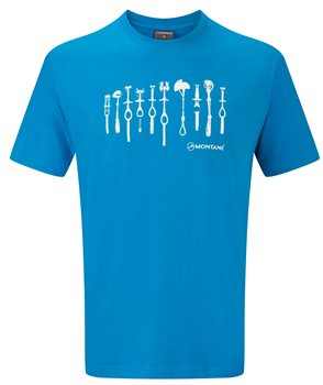 Montane Rock Cams T Shirt  - Click to view larger image
