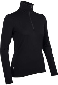 Icebreaker Womens Tech Top L/S Half Zip Women 2016-17 Base Layer Lupin - Click to view larger image
