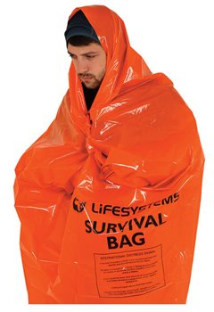 Lifesystems Survival Bag 1-2 Person Bivi Bag  - Click to view larger image