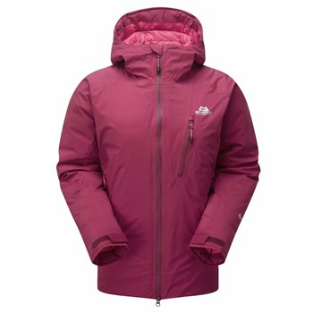 Mountain Equipment Womens Triton Insulated Jacket 2018  Cranberry - Click to view larger image