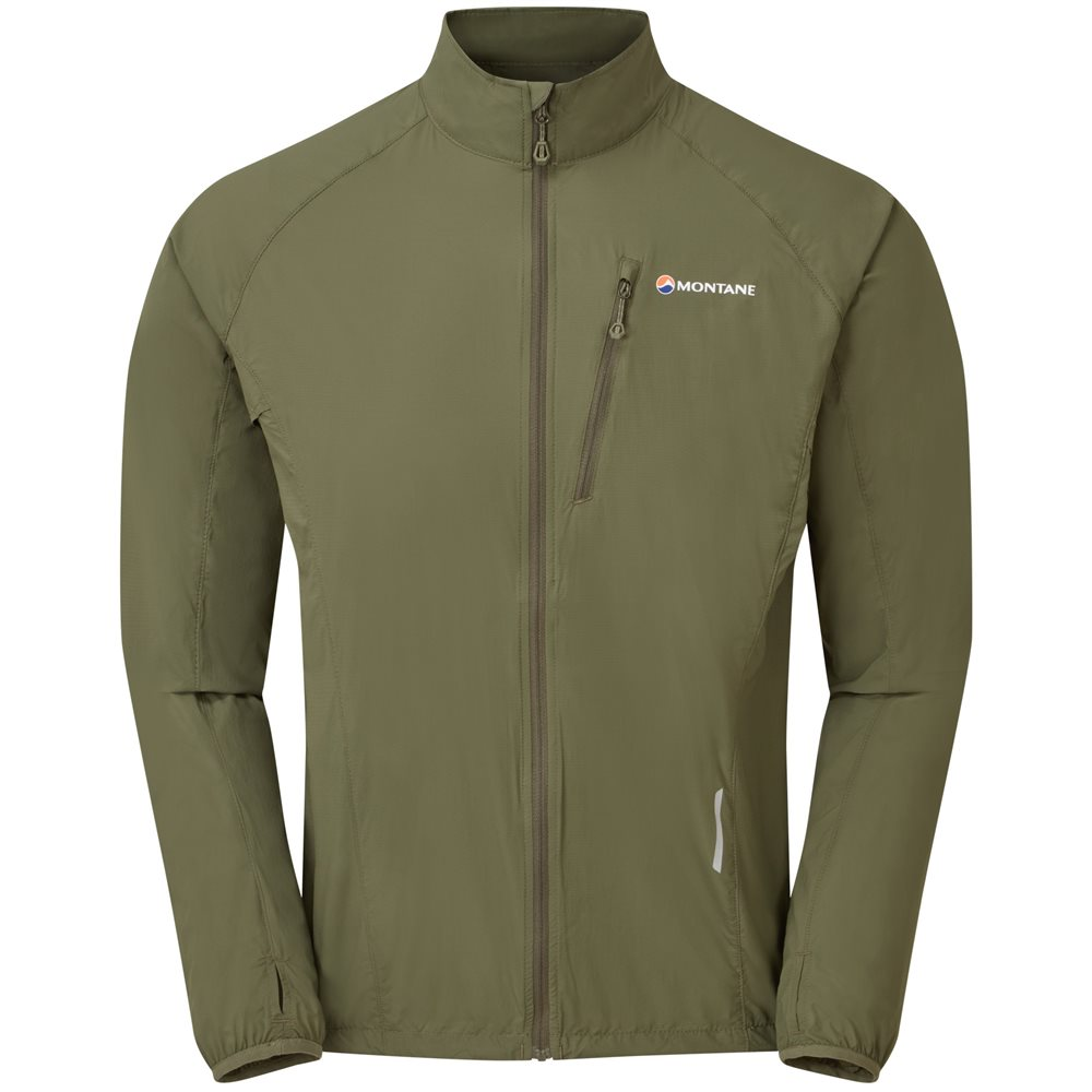 Montane Mens Featherlite Trail Windproof Jacket 1