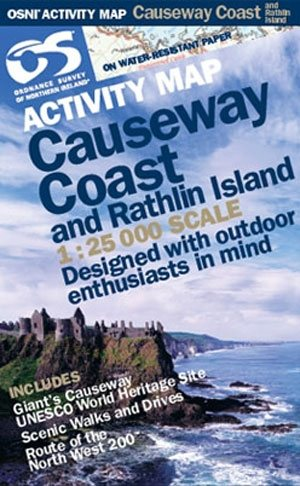 OS Northern Ireland Causeway Coast /Rathlin 1:25000 Map 1