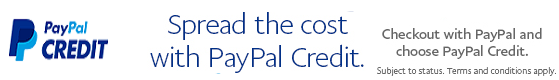 Spread the cost with PayPal Credit